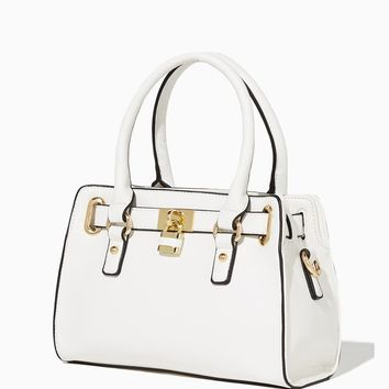 Mini Lady Lockbox Satchel | Handbags - Candy Coated | charming charlie