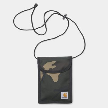 Carhartt WIP Collins Neck Pouch in Laurel Camo