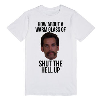 How about a warm glass of shut the hell up Happy Gilmore