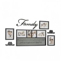 Melannco 7-Piece Decorator Photo Frame Set