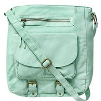 Bucket Buckle Crossbody Bag | Shop Grunge Prep at Wet Seal