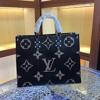 2019 New LV Louis Vuitton Women Leather Monogram Fashion Handbag Neverfull Bags Tote Handbag Shoulder Bag Wallet Bumbag