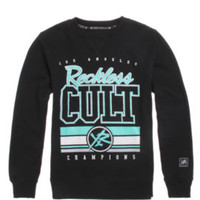 Young and Reckless H-E-Double Hockey Crew Fleece at PacSun.com