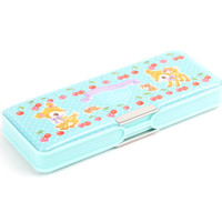 Hummingmint Double Compartment Pencil Case: Cherries