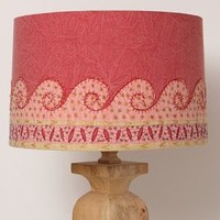 Embroidered Jaffa Lampshade by Anthropologie
