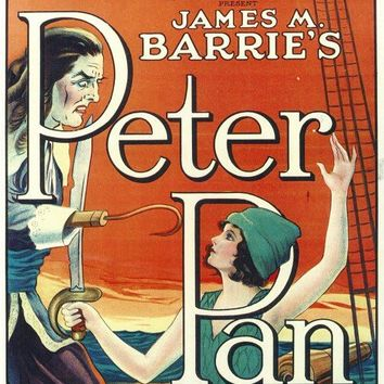Peter Pan 11x17 Movie Poster (1924)