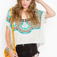 Cirque Tee  in  Clothes at Nasty Gal