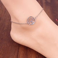 Cute Sexy Ladies Jewelry New Arrival Gift Shiny Accessory Stylish Simple Design Anklet [6937879431]