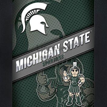 Michigan State Spartans | 3D Art | By PFF | Framed | 3-D | Lenticular Artwork | NCAA Licensed