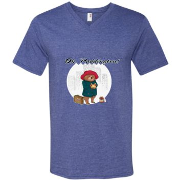 paddington t shirt - oh Paddington 982 Anvil Men's Printed V-Neck T-Shirt