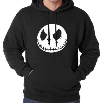 new arrival Jack Skellington men sweatshirts 2017 new spring winter men hoodie Nightmare Before Christmas hoodies men streetwear