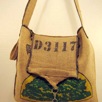 Costa Rica Tree Coffee Bag Tote