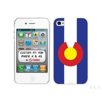 Cellet Proguard with Colorado Flag for Apple iPhone 4 & 4S