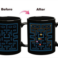 Magic Pacman Color Changing Mug