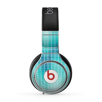 The Teal Disco Ball Skin for the Beats by Dre Pro Headphones