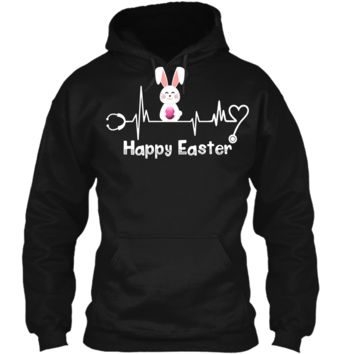 Funny Stethoscope Nurse Doctor Easter T-Shirt Pullover Hoodie 8 oz