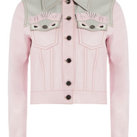 Leather Jacket - Fendi | WOMEN | KR STYLEBOP.COM