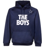 Nike Dallas Cowboys The Boys Local Pullover Performance Hoodie - Navy Blue