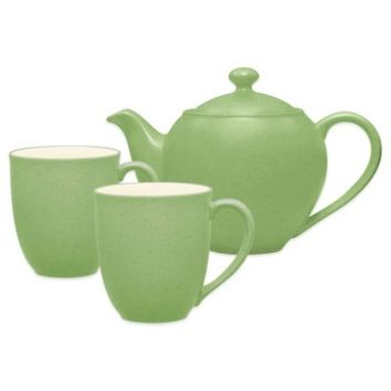 Noritake® Colorwave 3-Piece Tea-for-Two Teapot Set in Apple