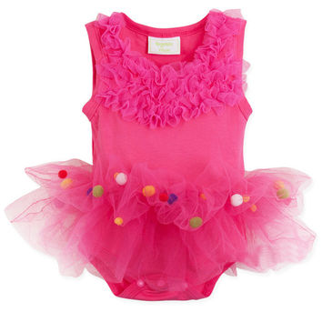 Summer Princess Baby Shirt Dress Sleeveless One-piece [4919771140]