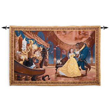 Disney Beauty and the Beast Tapestry Wall Hanging | Disney Store