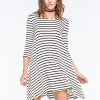 SOCIALITE Striped Swing Dress | Outdoor Wanderlust