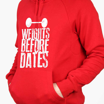 Weights before dates For Man Hoodie and Woman Hoodie S / M / L / XL / 2XL*AP*