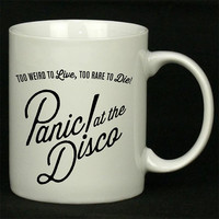 panic at the disco pocket logo For Ceramic Mugs Coffee *