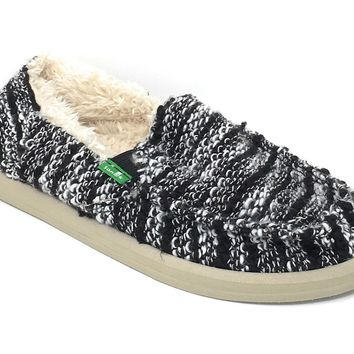 Sanuk Donna Chill Black Sidewalk Surfers