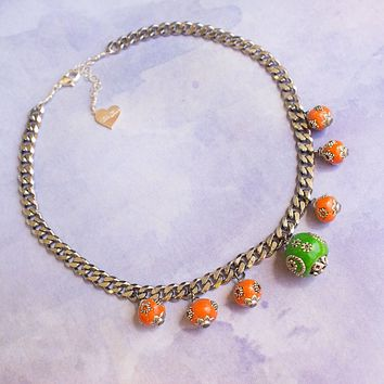 Mini Lantern Charm Necklace