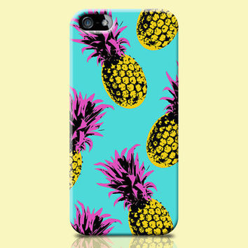 Pineapple Phone case, Pineapple iPhone 6 Case, womens iphone case, iPhone accessories, iphone 6 case, fruit iphone case, pop art iphone case