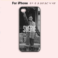 SWERVE Swag Funny Phone Case Quote Rubber Cover iPhone 4 4s 5 5s 5c 6 Plus Hot-5 Colors Available