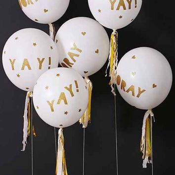 Meri Meri Glittered Balloon Party Kit