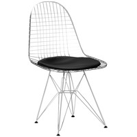 Solid Chrome Steel Side Chair