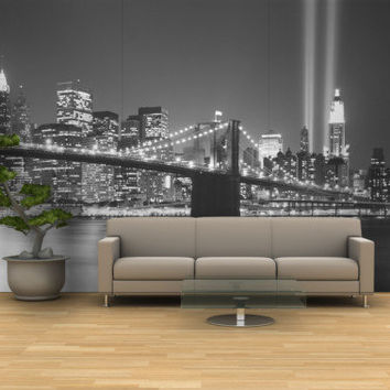 Shop New York Wall Mural on Wanelo