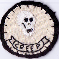 Mini Creep Skull Patch