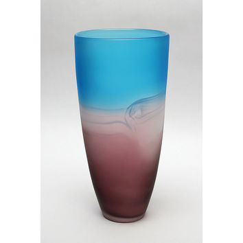 Park Avenue Collection Palo Duro 11In Glass Vase