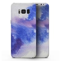 Blue and Pink Watercolor Spill - Samsung Galaxy S8 Full-Body Skin Kit
