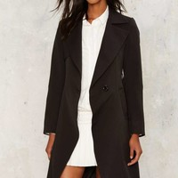 Maggie Belted Trench Coat
