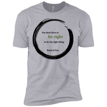 quote about doing the right thing T-Shirt