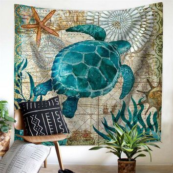 Sea Turtle Tapestry - Sale Ending!