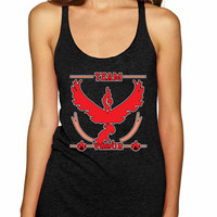 Women's Tank Top Team Valor Red Team Cool Top