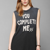 UNIF You Complete Mess Muscle Tee - Urban Outfitters