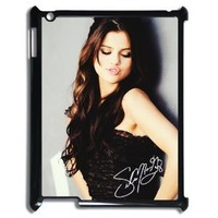 Selena Gomez Popular Lightweight Case for ipad 3 Hard Phone Cover Case