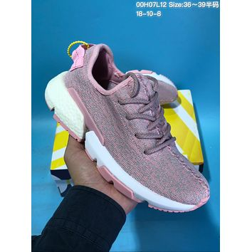 HCXX A426 Adidas EQT Yeezy 350 Boost Flyknit Casual Running Shoes Pink
