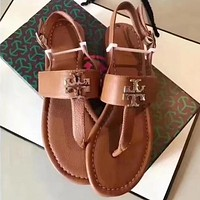 Tory Burch Women Fashion Sandals Shoes