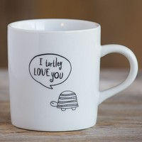 Mug:  Turtle-y  Love  You  Thought  Bubble  Mug  From  Natural  Life