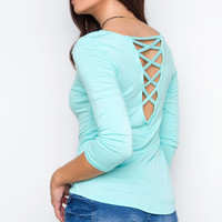 Got Your Back Top - Mint