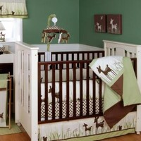 Willow Organic Baby Crib Bedding by Kidsline