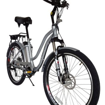 X-Treme Hanalei Electric Bike 36 Volt Step-Through Beach Cruiser Throttle Power Assist